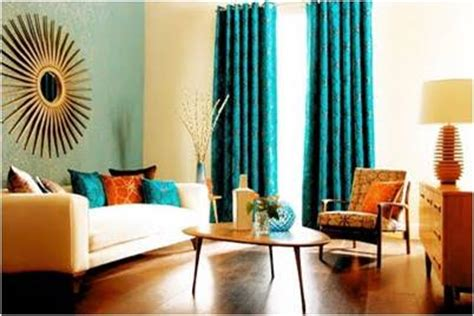Burnt Orange And Teal Living Room by Key Interiors By Shinay Color Combination Complementary