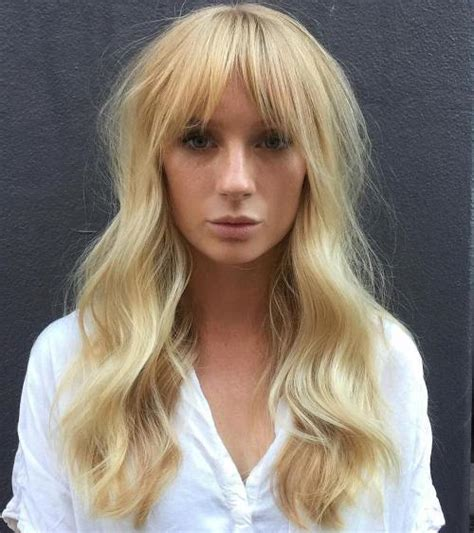 hairstyles long blonde fine hair 40 long hairstyles and haircuts for fine hair with an