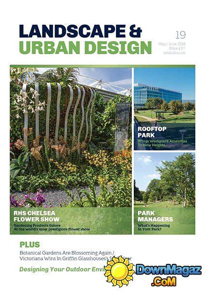 urban design journal pdf landscape urban design issue 19 may june 2016