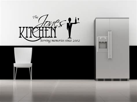 personalised wall sticker quotes personalised wall sticker kitchen quote decorative mural