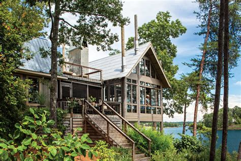alabama house plans lake house in the trees southern living