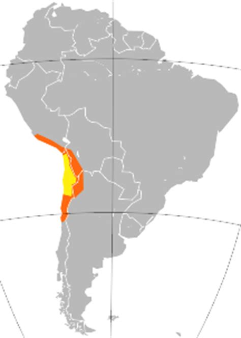 south america map atacama desert what american countries a similar climate to