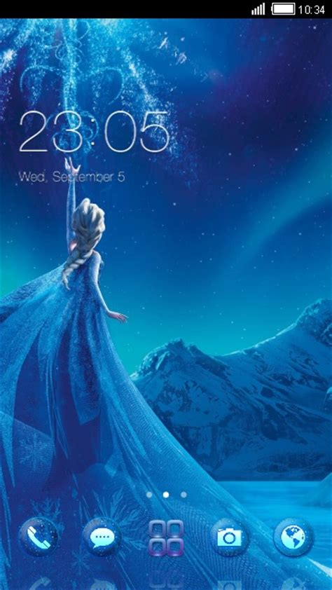 mi mobile themes free download download elsa from frozen theme for your android phone