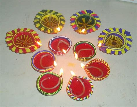 diya decoration for diwali at home diwali diya pooja thali rangoli decoration ideas pictures