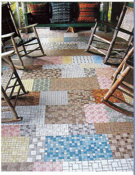 Patchwork Carpet Tiles - 211 best inspirational floors images on
