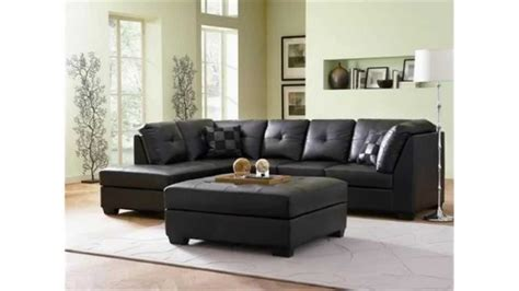 Contemporary Black Leather Sectional Sofa Left Side Chaise By Coaster Contemporary Black Leather Sectional Sofa Left Side Chaise By Coaster