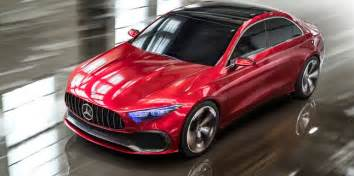 Mercedes A Class Sedan 2018 Mercedes A Class Sedan Concept Revealed