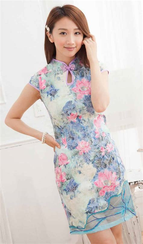 Baju Cheongsam Murah Katun baju import murah wanita baju cheongsam wanita modern