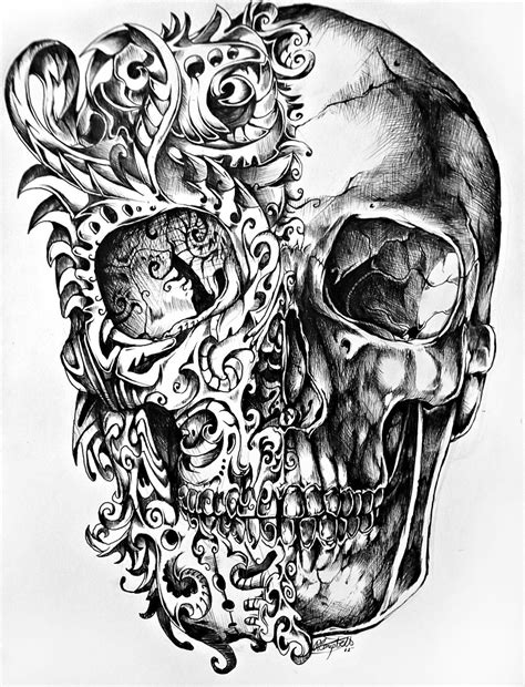 wicked tattoos designs awesome skull designs part 3 tattoos and