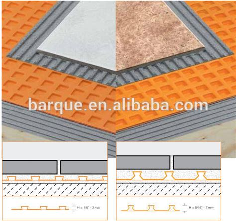 flooring underlay underlayment for floor tiles waterproof