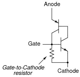 diode as voltage controlled resistor the silicon controlled rectifier scr electronics forums