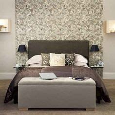 wallpaper to complement grey walls upholstered beds on pinterest beds bespoke and headboards