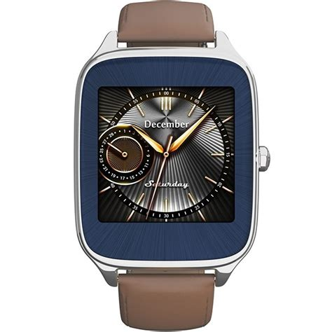 asus zenwatch 2 camel leather 49mm wi501q silver jakartanotebook
