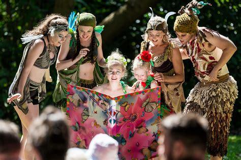 Shakespeare Botanical Gardens Melbourne Tinkerbell And The Fairies By The Australian Shakespeare Company Kidding Around Australia