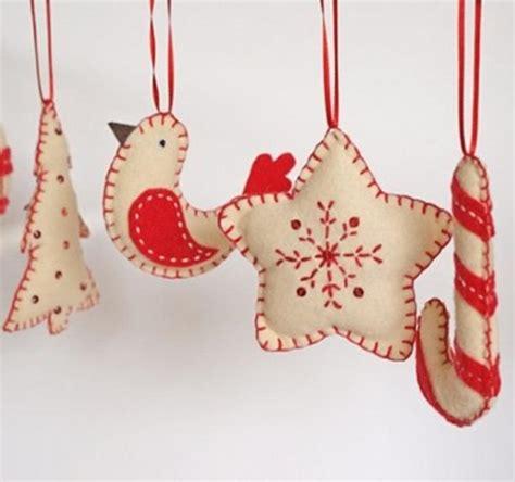 adornos de fieltro para navidad uolala