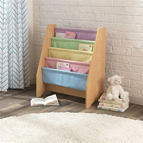 kidkraft sling bookshelf pastel shop selling items