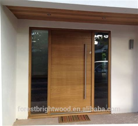 pivot front door designs contemporary style wooden front door design pivot door
