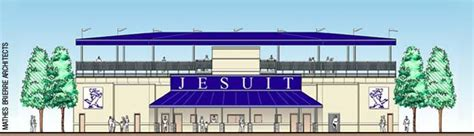 Best Jesuit Mba by Mba Designs New Athletic Complex For Jesuit High School