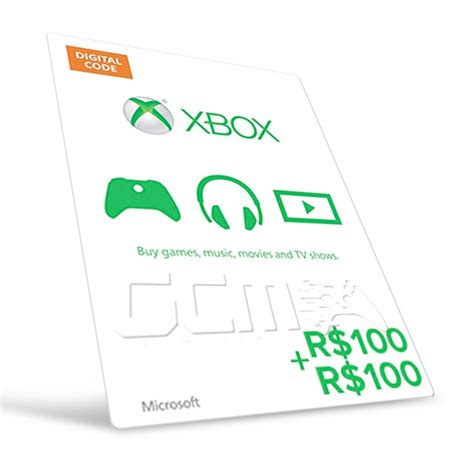 Lista Gift Card Code - microsoft gift card cart 227 o xbox br r 200 r 100 r 100