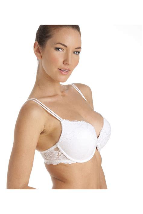 Push Up Bra White boost padded push up white underwire bra
