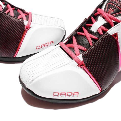 dada supreme dada supreme 4th quarter white black pink karl malone mens