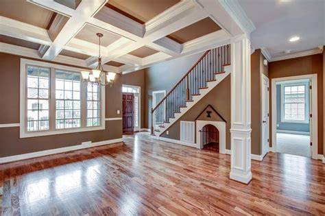 gorgeous coffered ceiling paint color combo home decor paint colors colors