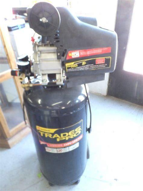 lot detail  trade trades pro air compressor nn op