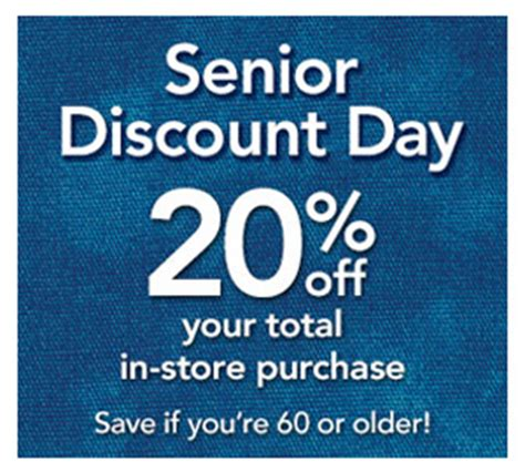 what day is senior discount day at great clips shop for senior citizen discount day shopping supplies