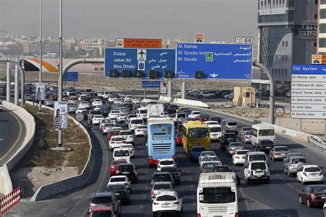 emirates road dubai s top traffic hotspots as more schools open