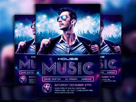 house music flyers 31 dj flyer design templates design trends premium psd vector downloads