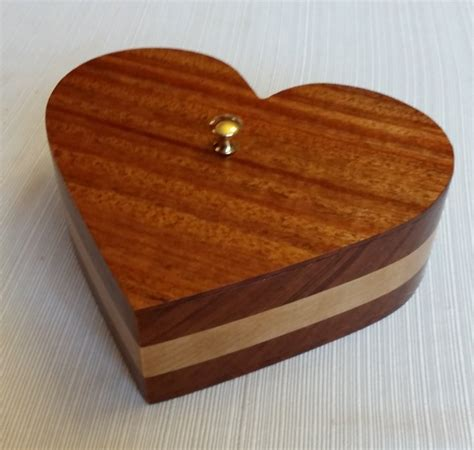 Heart Shaped Bandsaw Box By Matt In Franklin