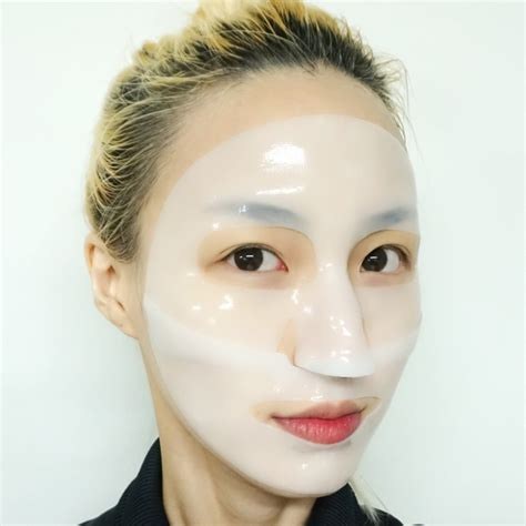 Etude Toning White C etude house toning white c oule hydrogel mask review