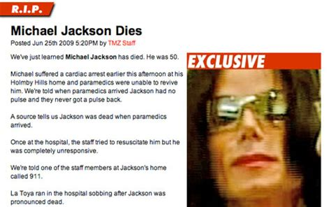 michael jackson wann gestorben michael jackson ist tot der king of pop erlitt einen