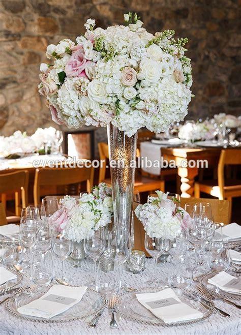 pas cher grand vase en verre pour le mariage fleurs