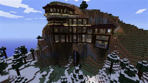 mountain house forum mountain mansion house minecraft project