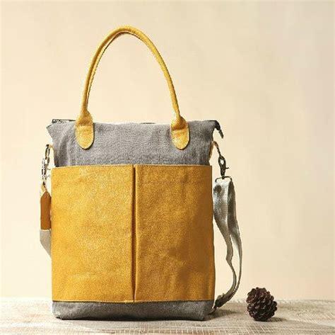 Tas Unisex Unisex Handbag Clutch Boais 368035 yellow messenger bag canvas bag shoulder bags student