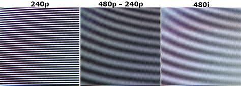 test pattern downscaling retrorgb 240p