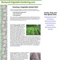 creating a vegetable garden from scratch pearltrees