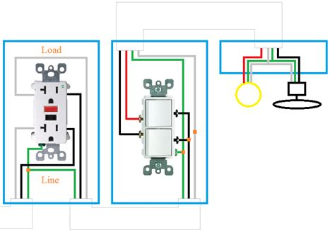 wiring diagrams for gfci receptacles wiring diagram for