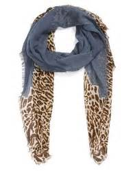 Polo Square Tribal Black 2 ralph leopard print scarf