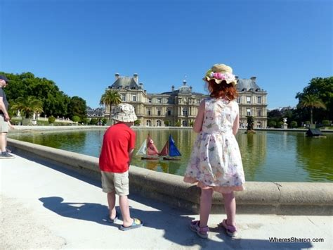 sailboats at luxembourg gardens france travel blog family travel blog travel with kids