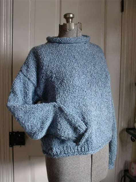 Pattern For Knitted Roll Neck Sweater | roll neck sweater patterns long sweater jacket
