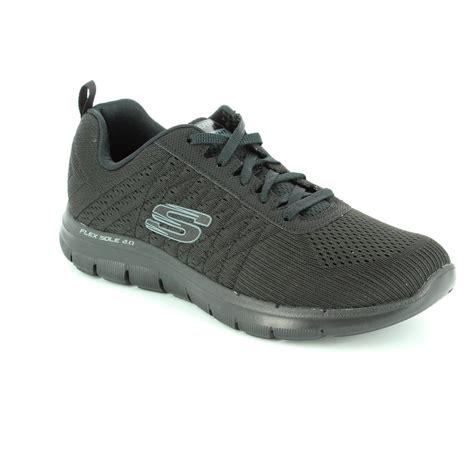 Sepatu Skechers Flex Appeal skechers flex appeal 2 12757 bbk black trainers
