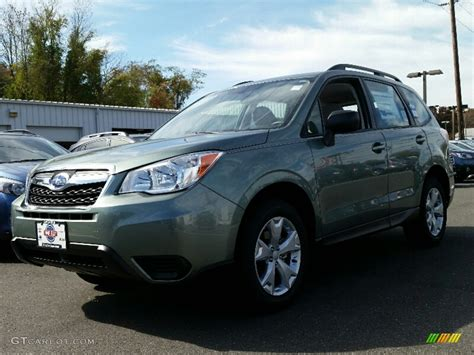 green subaru forester 2016 2016 green metallic subaru forester 2 5i