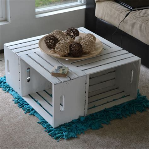 Coffee Table Out Of Crates 20 Diy Wooden Crate Coffee Tables Guide Patterns