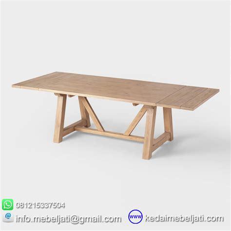 Meja Makan Minimalis Cirebon beli meja makan tarik model minimalis jati jepara harga