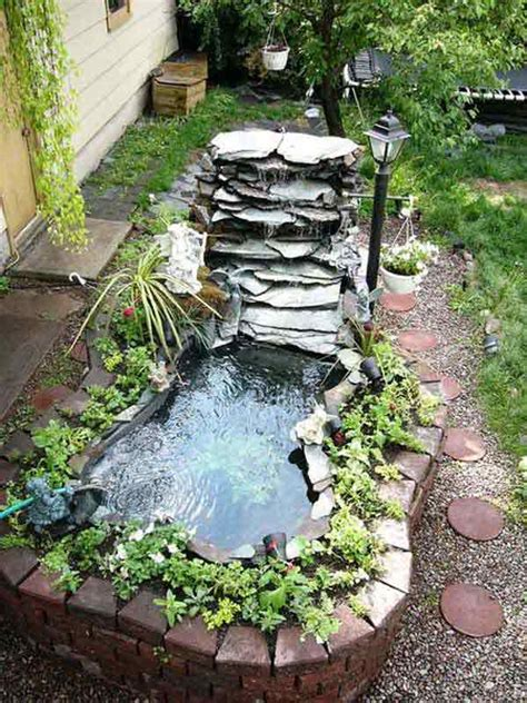 Backyard Pond With Waterfall by 35 Impressive Backyard Ponds And Water Gardens Amazing