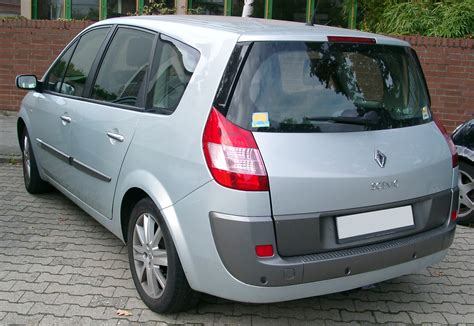 renault scenic 2007 file renault scenic rear 20070926 jpg wikimedia commons