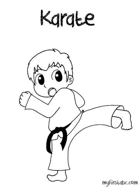 karate coloring pages karate coloring pages coloring home