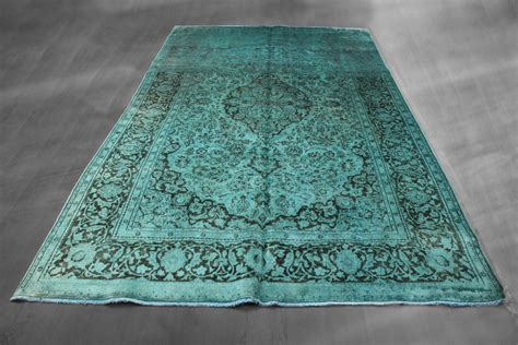 teal overdyed rug 7x11 overdyed tabriz floral teal espresso rug woh 1308 west of hudson 2018 rug collection